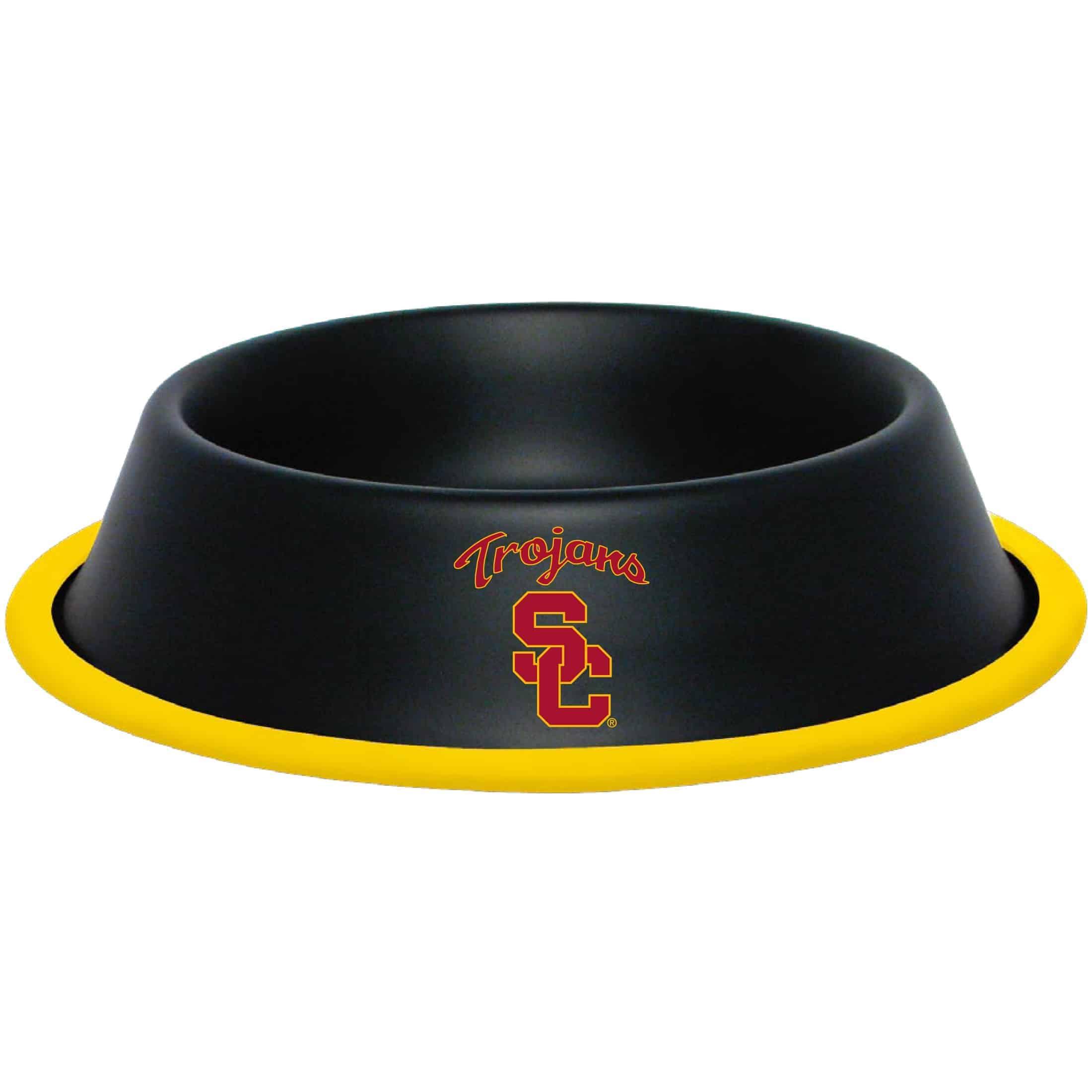 USC Trojans Dog Bowl - Stainless