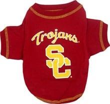 USC Trojans Dog Tee Shirt