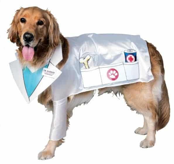 Vet Dr. Barker Dog Costume