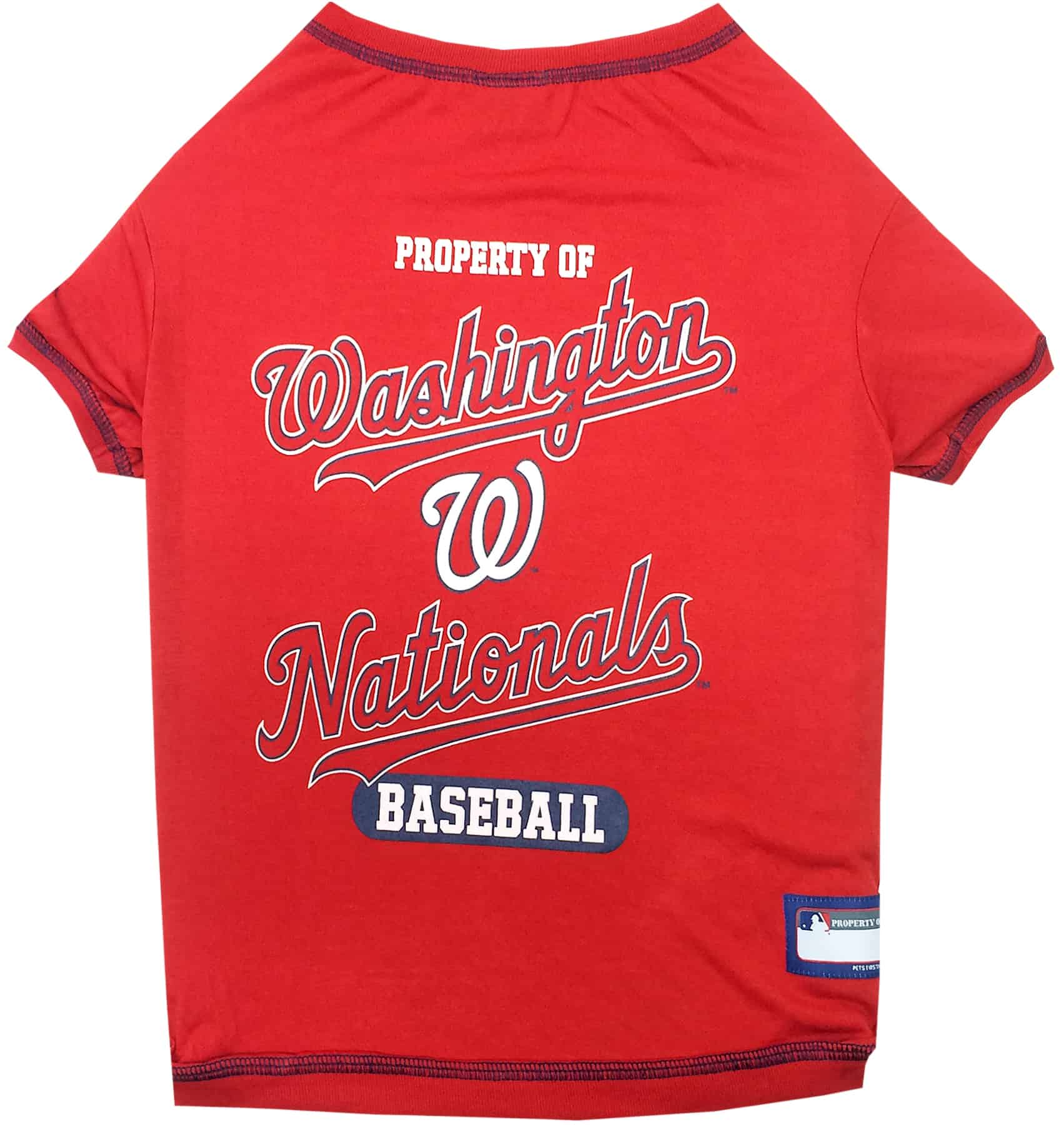 Washington Nationals Dog Tee Shirt