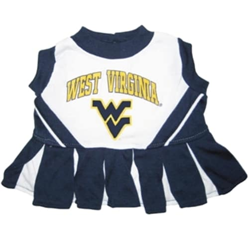 West Virginia Cheerleader Dog Dress