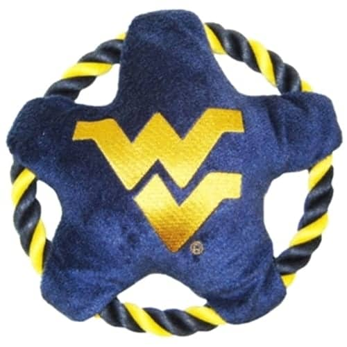 West Virginia Rope Disk Dog Toy
