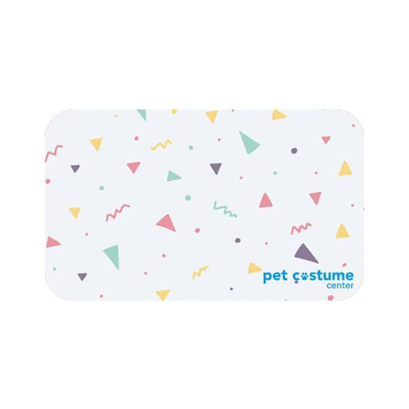 Pet birthday gift card