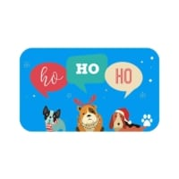 pet holiday gift card