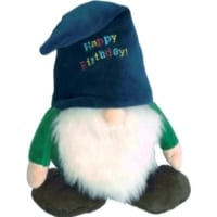 Gnome Happy Birthday Dog Toy