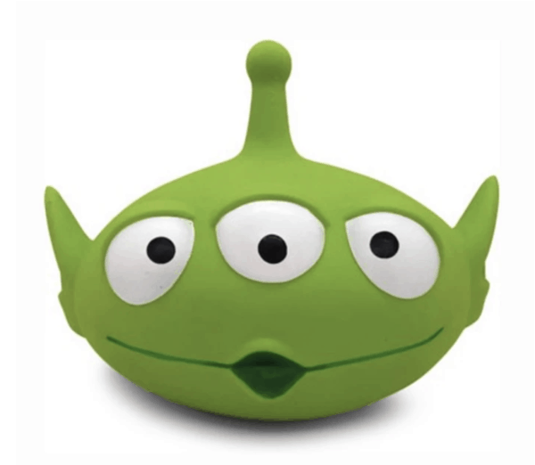 Alien Toy Story Super Squeaker Dog Toy