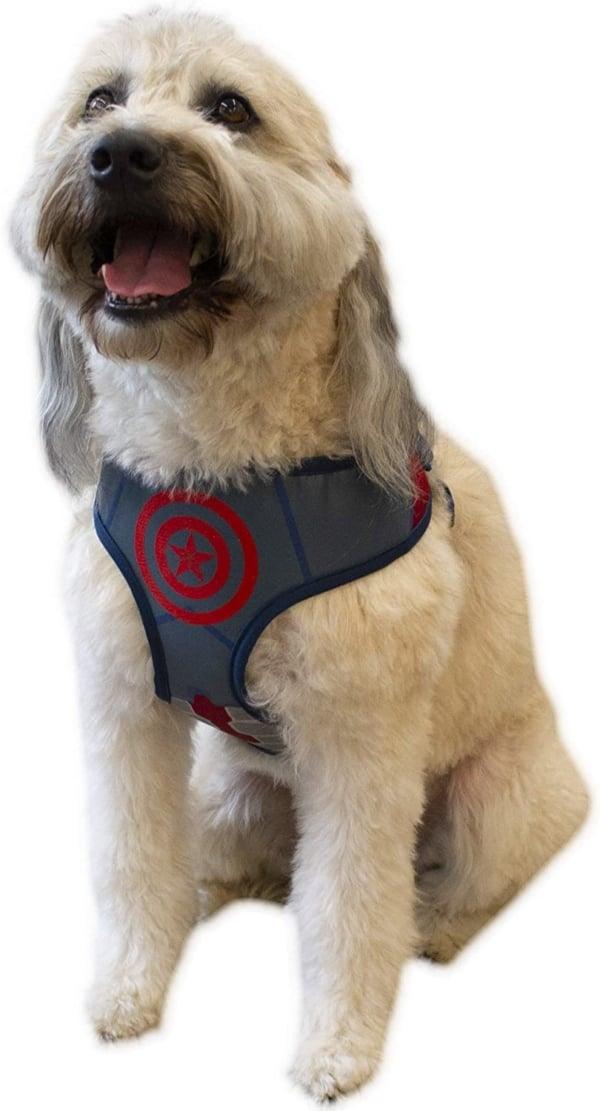 Captain America Marvel Dog & Cat Harness
