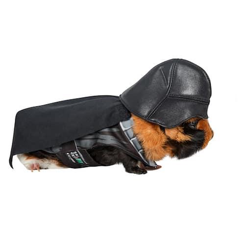 Darth Vader Guinea Pig Pet Costume