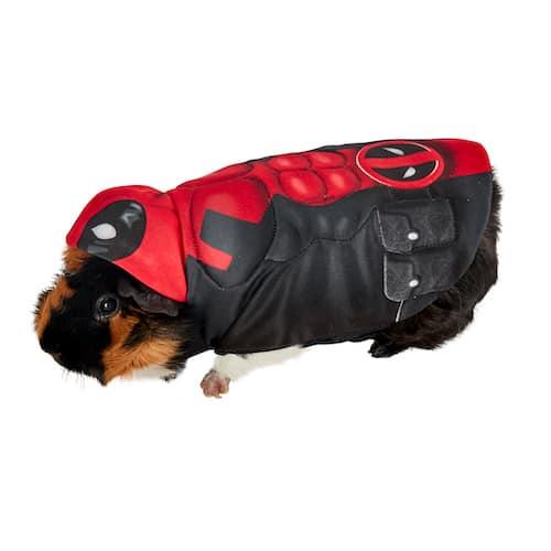 Deadpool Guinea Pig Pet Costume