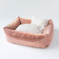 Luxury Crystal Dog Bed (champagne)
