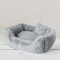 Luxury Divine Dog Bed (dove grey)