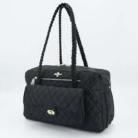 Luxury Porsha Dog Carrier (black)