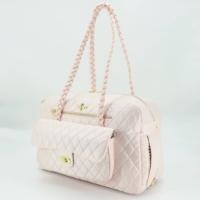 Luxury Porsha Dog Carrier (blush)